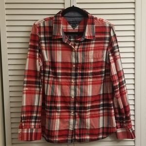 NWOT Tommy Hilfiger Plaid Shirt